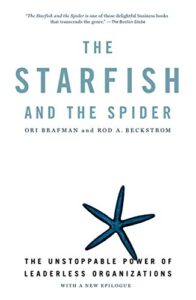 Book cover, Starfish and the Spider