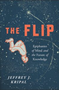 book cover The Flip showing summersaulting astronaut in space